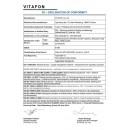 Декларация для Витафон-ИК