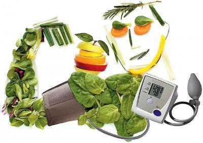 Диета и полезные продукты при гипертонии