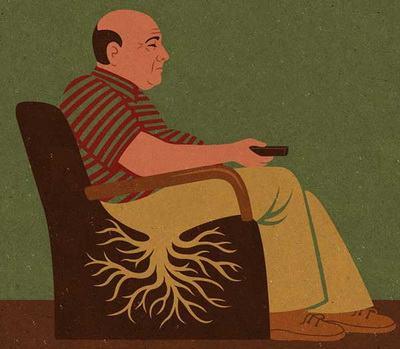 Малоподвижный образ жизни - условие возникновения многих заболеваний
