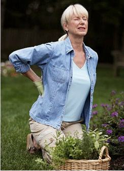 Симптомы и признаки остеохондроза - боль в спине!