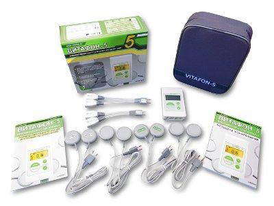 Медицинский аппарат Витафон-5 для лечения остеохондроза, спондилеза, радикулита и ишиаса